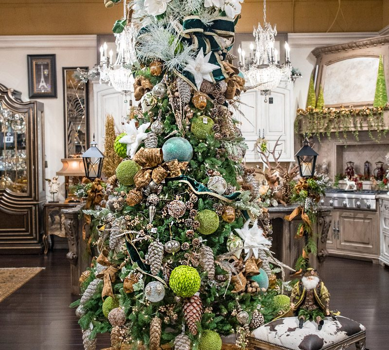 Green Christmas Decor