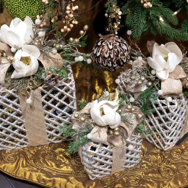Silver Luxury Christmas Home Decor