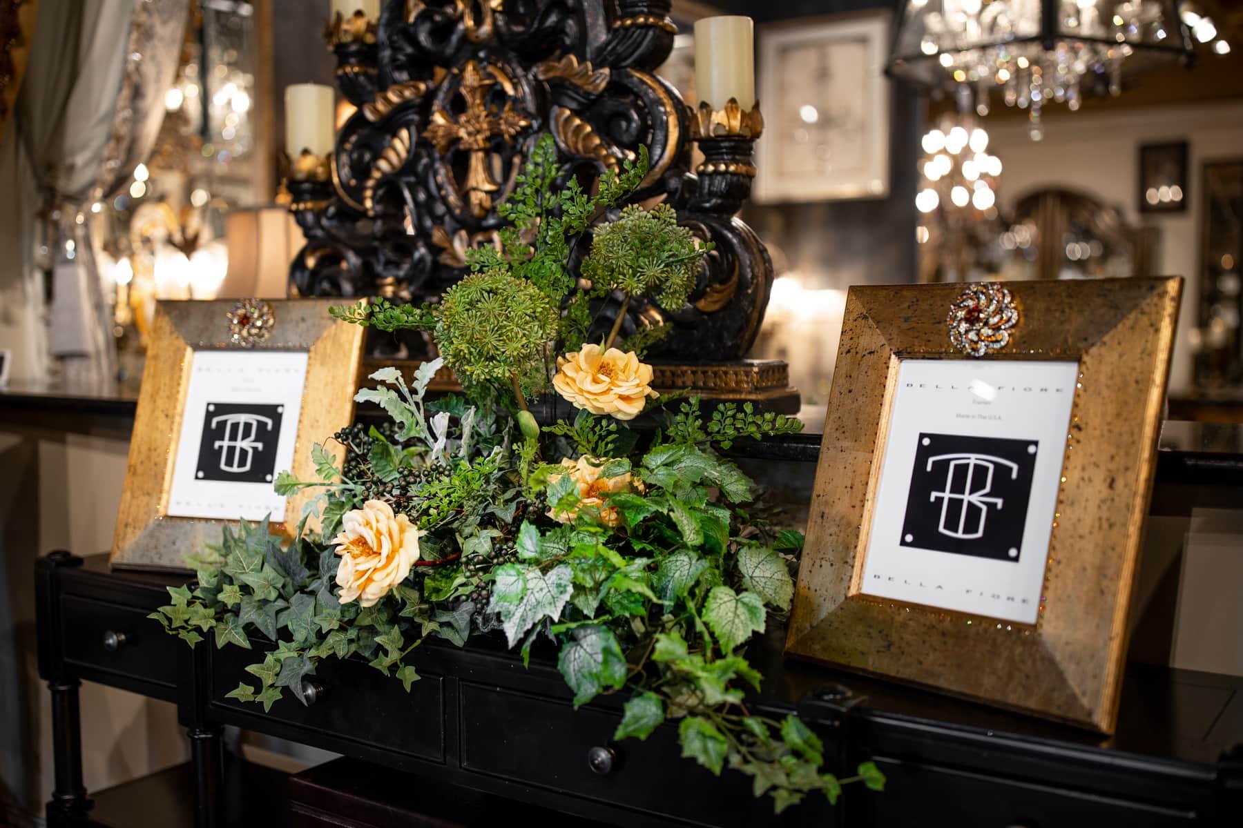 handcrafted silk floral arrangements