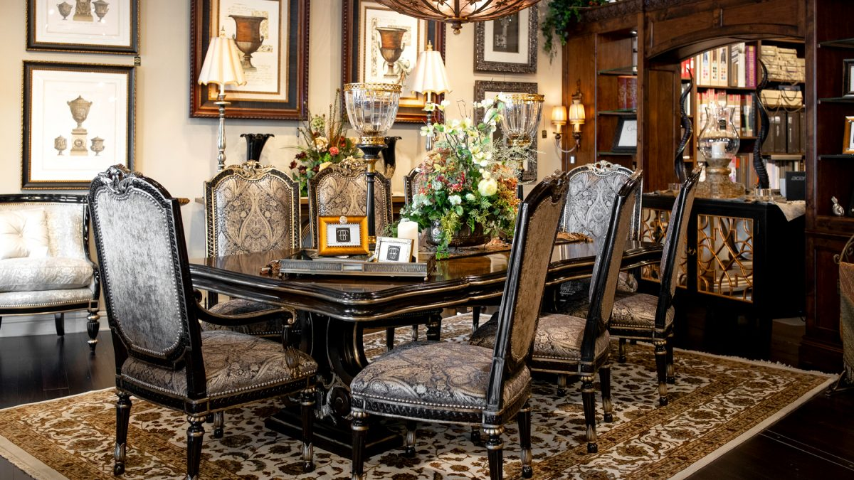 , Marge Carson Furniture Showroom