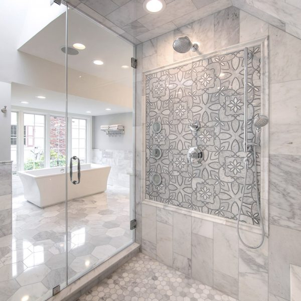 Luxury Master Bathroom Shower Remodeling
