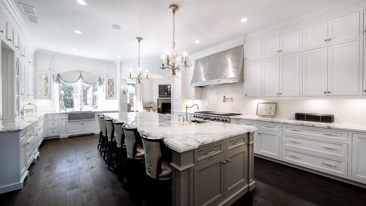 White Kitchen Design - kitchern remodeling