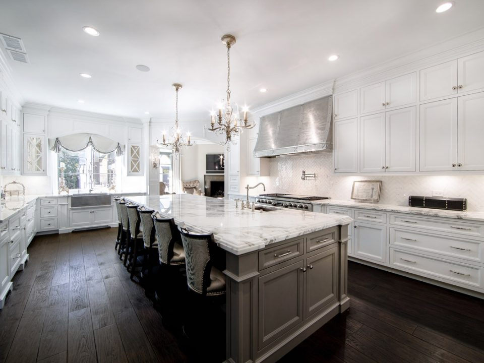 White Kitchen Design - kitchern remodeling