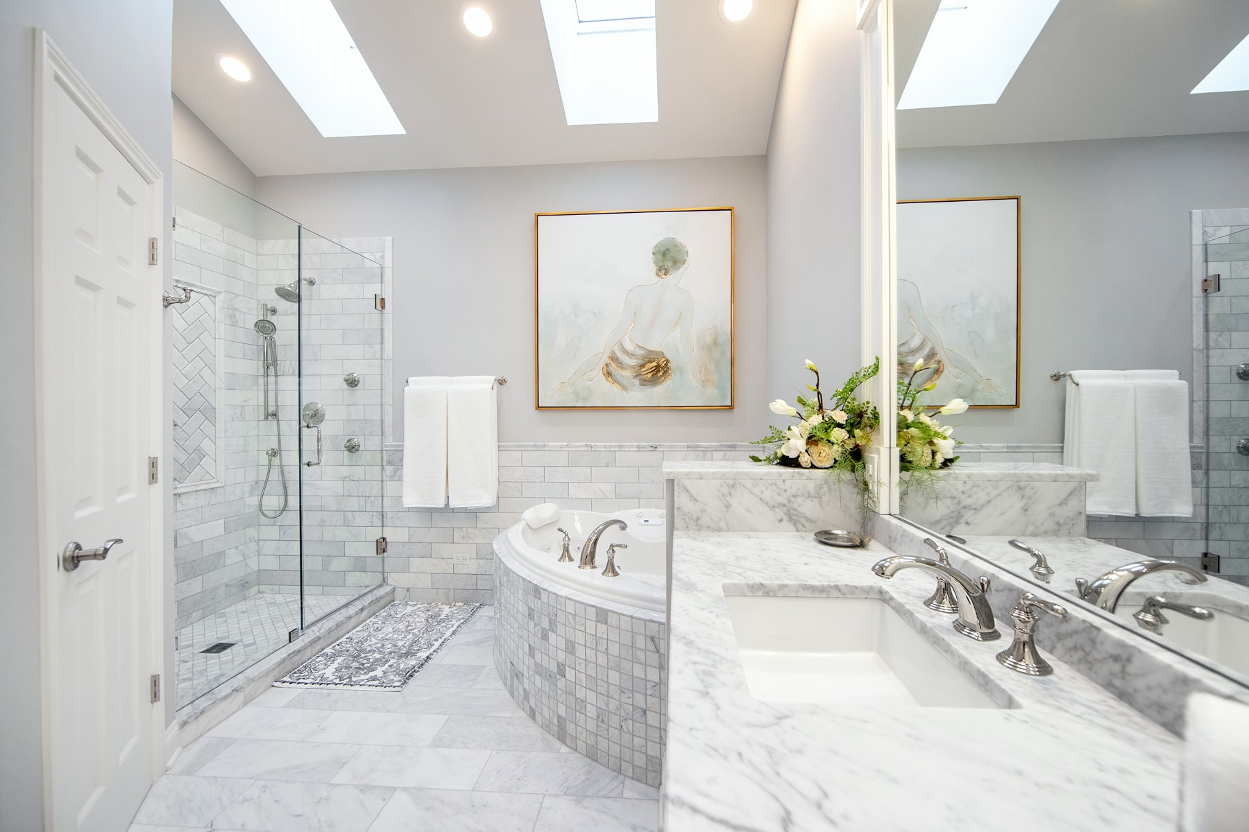 Luxurious Master Bathroom Remodel - Linly Designs