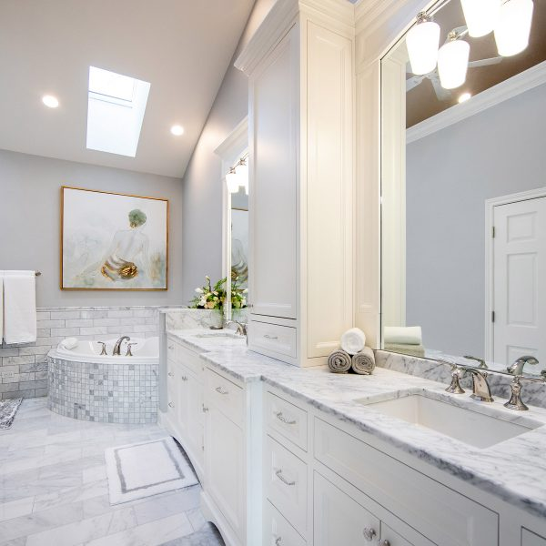 Custom Master Bathroom Remodeling