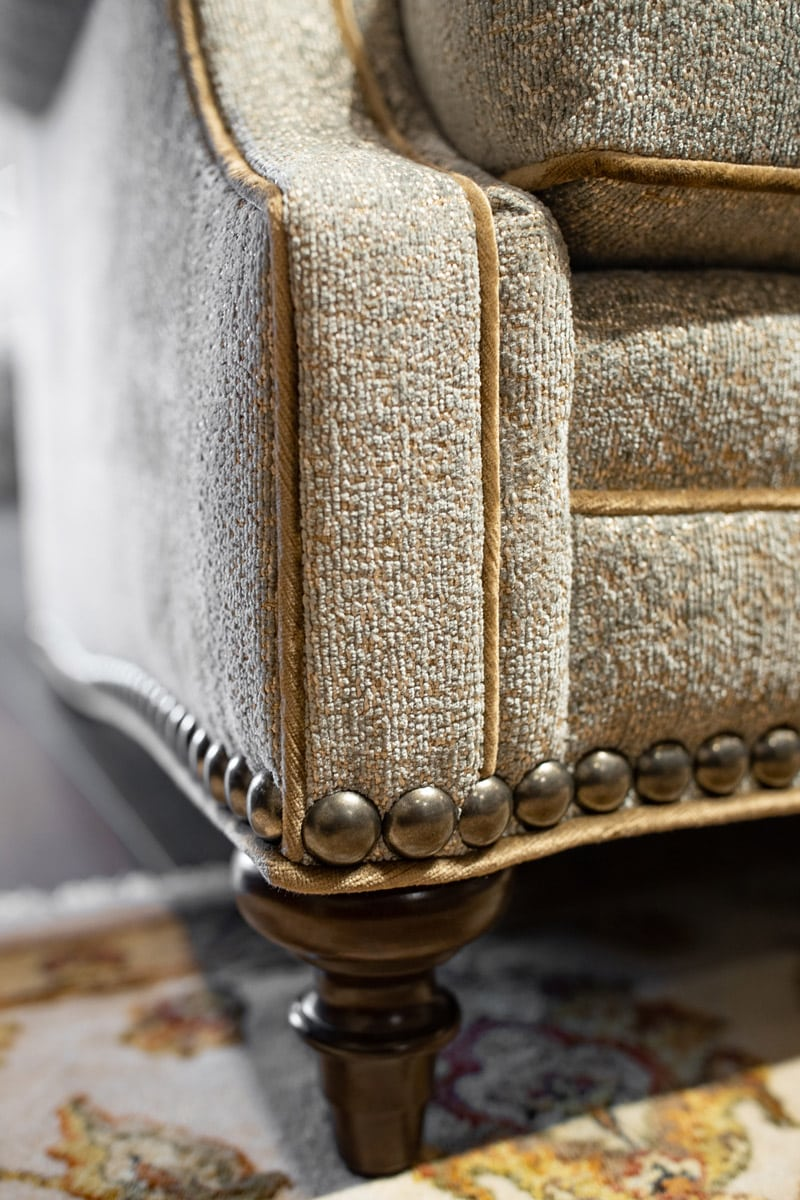 Luxury Furniture Detail and Upholstery