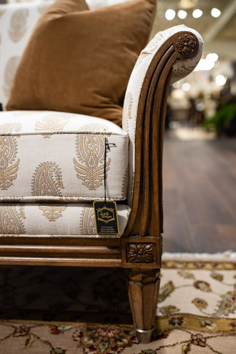 , Luxury Furniture Details and Custom Upholstery Design