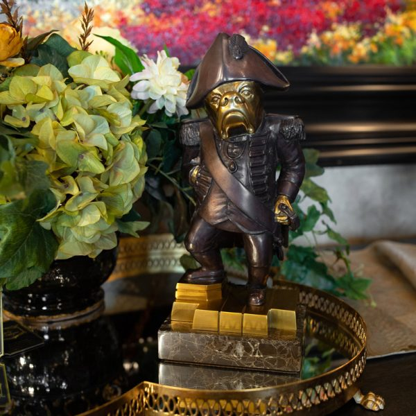 Luxury Dog Statue Home Accents