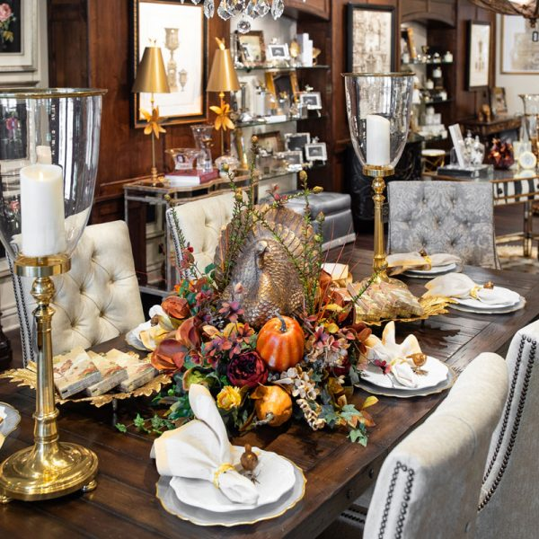 Luxury Fall Table Setting Ideas