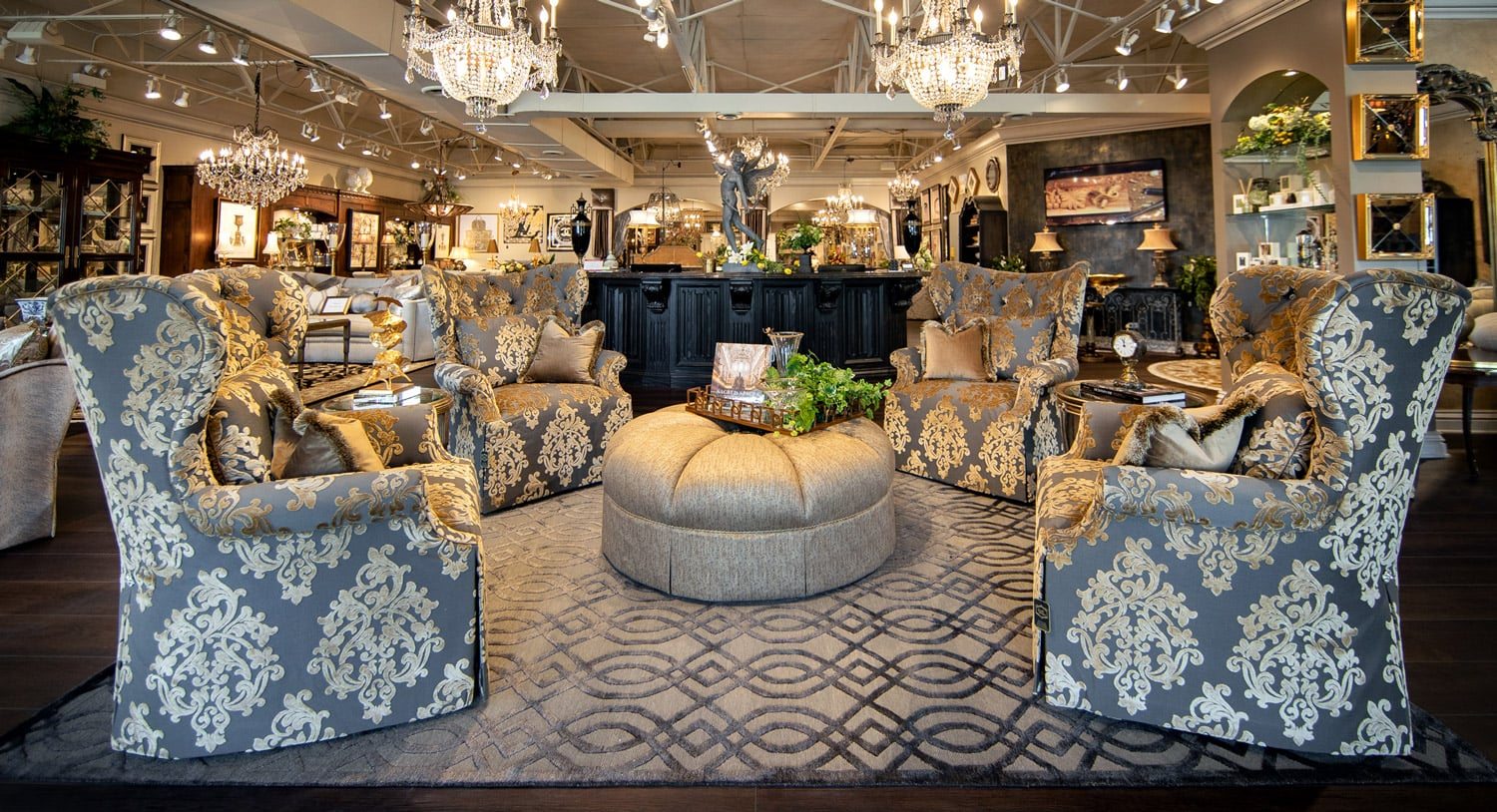 Luxury Marge Carson Fabric Chairs Linly Designs