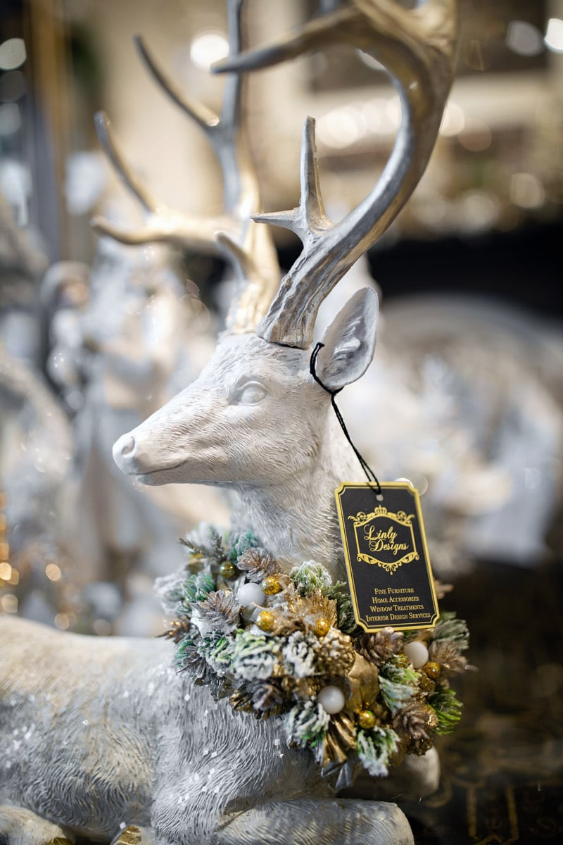 White Decorated Deer