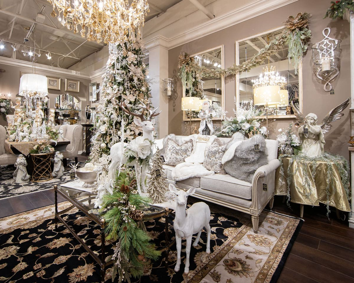 Luxury Christmas Interior Design Showroom