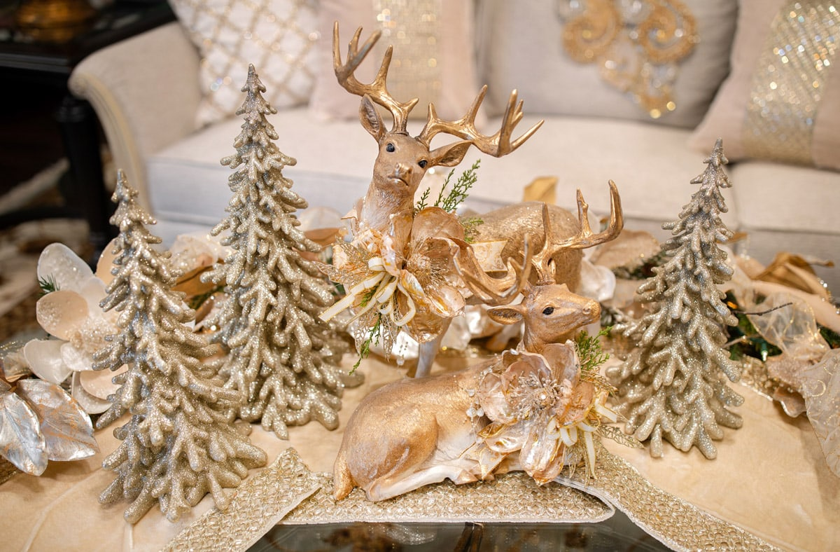 Luxury Christmas Reindeer for Decorating your Home