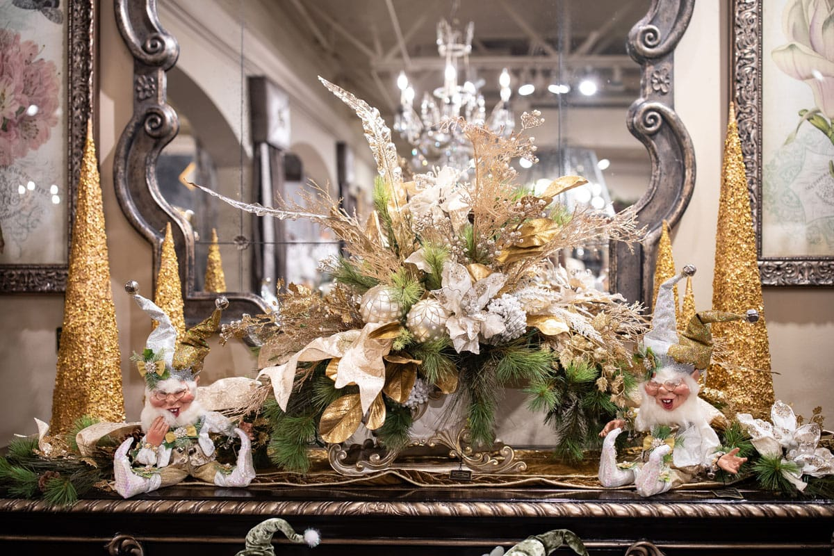 Luxury Handcrafted Christmas Flower Arrangement