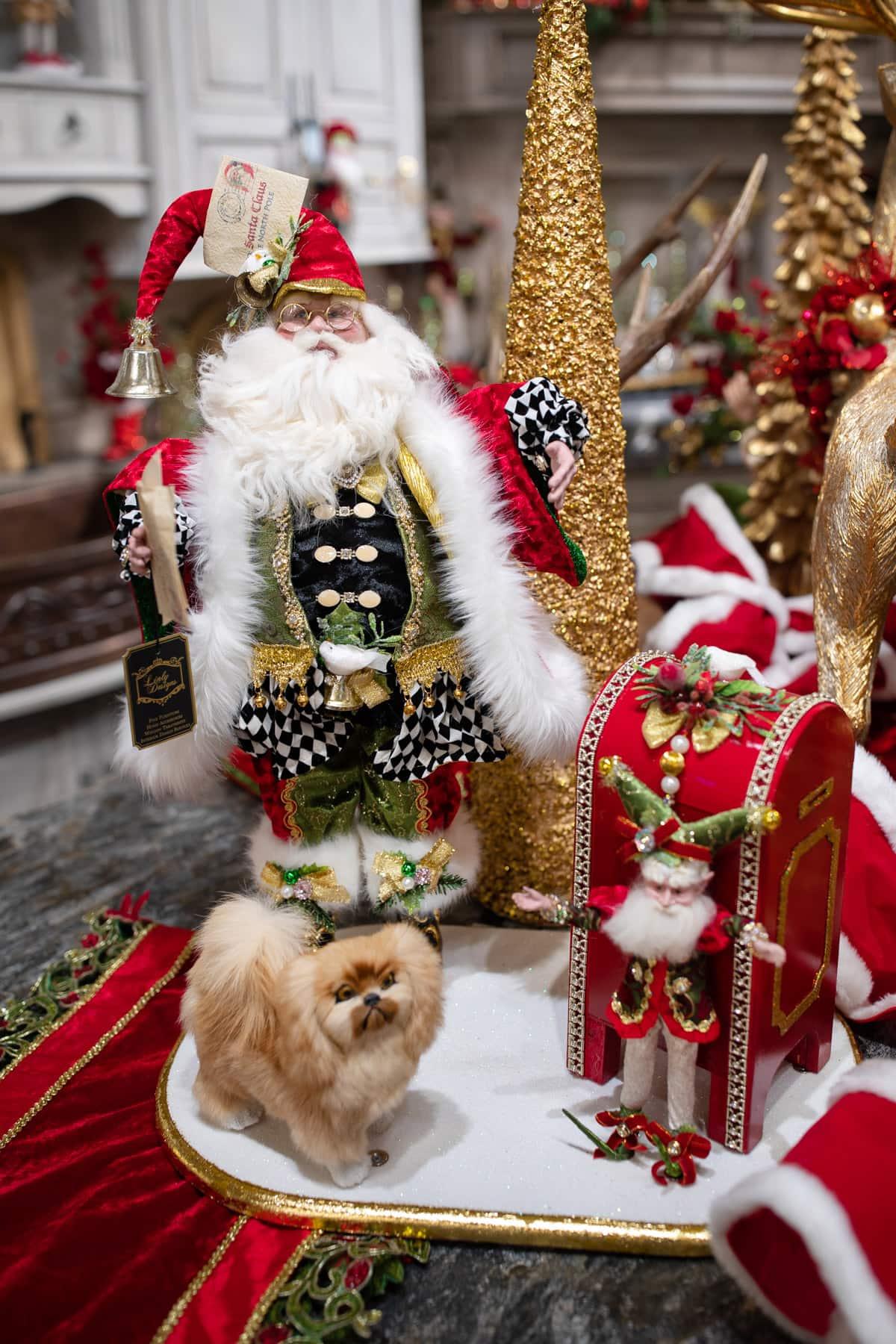 Luxury Santa Decor