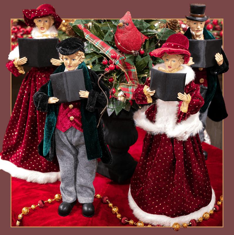 Christmas Carolers Holiday Decor