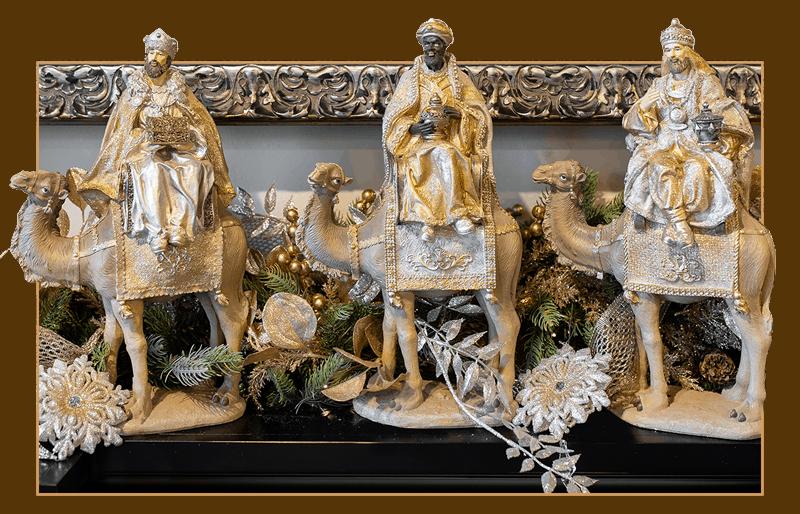 Three Wisemen Christmas Decor
