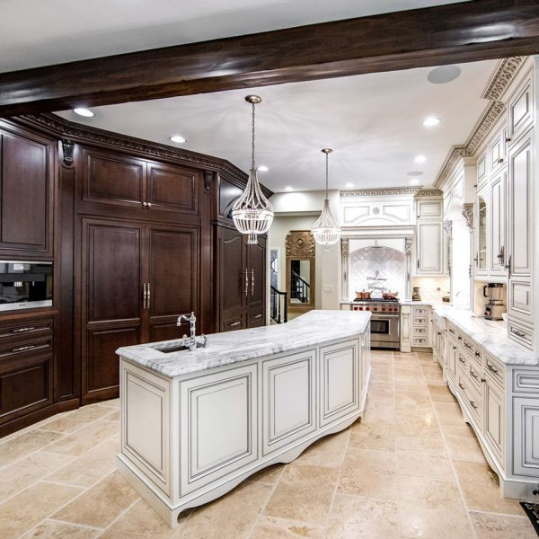 Traditional Luxury Custom Kitchen Remodeling