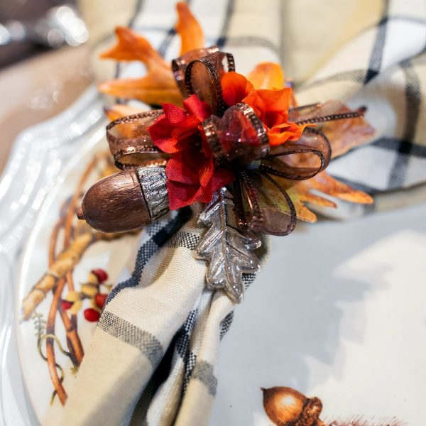 Luxury Fall Napkin Rings