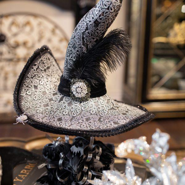 Black Witches HatLuxury Seasonal Home Decor and Designer Decorations