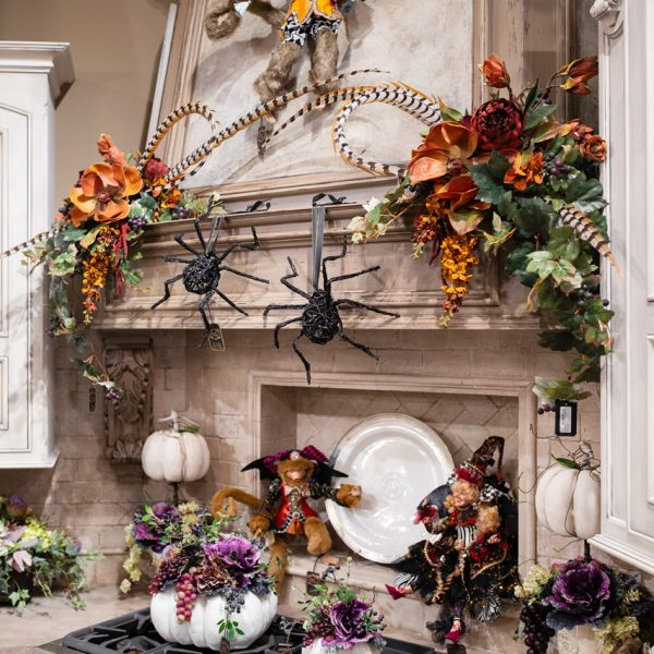 Fall Decorated Kitchen Showroom Luxury Seasonal Home Decor and Designer Decorations