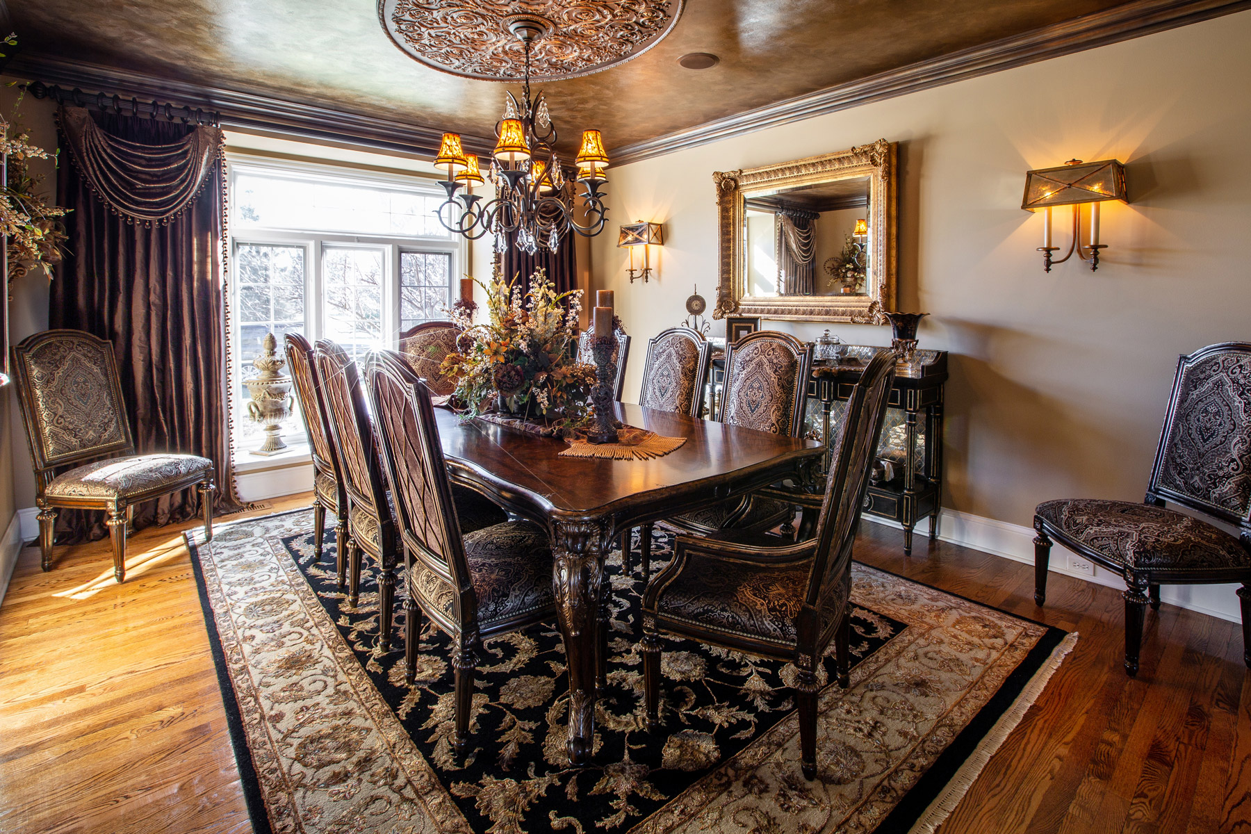 Luxury Marge Carson Dining Room Decorating Ideas
