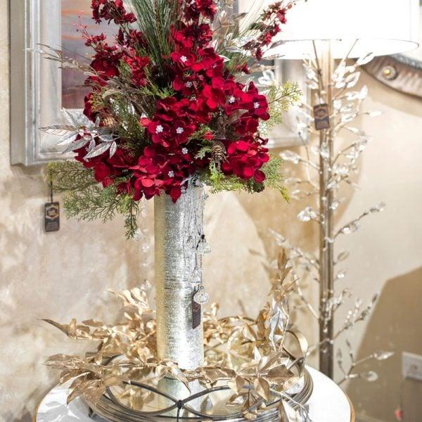 Handcrafted-Luxury-Red-Christmas-Silk-Flower-Arrangement