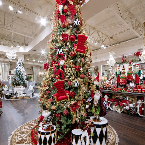 Large 12 ft Classic Red Unique Christmas Tree Decorating Ideas for Your Home
