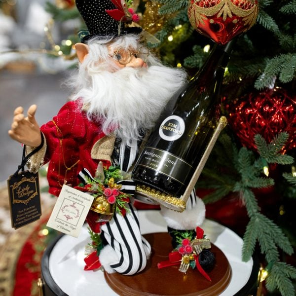 Luxury Christmas Mark Roberts Holiday Elf Wine Bottle Holder