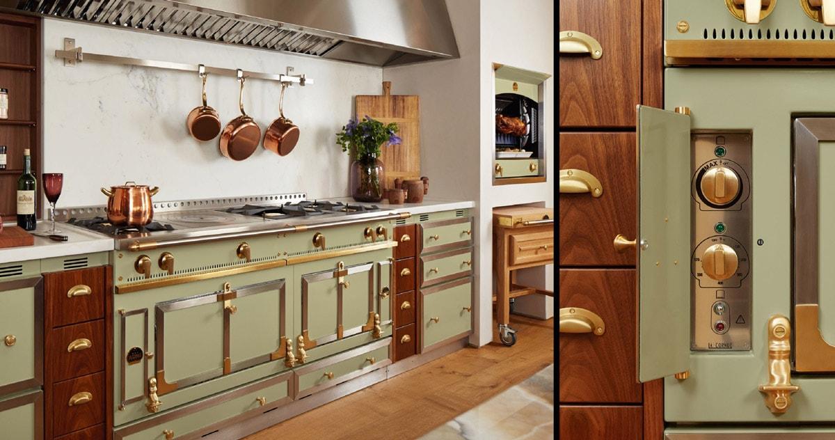 Green-and-Gold-La-Cornue-Luxury-Chateau-Kitchen-Range