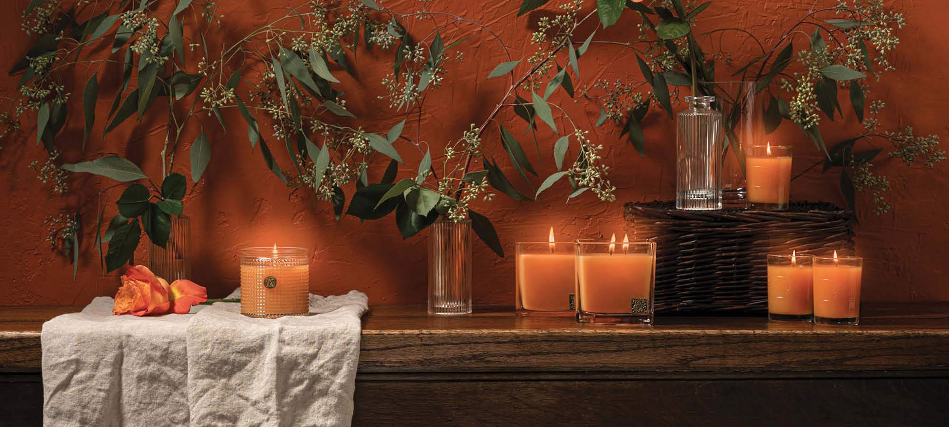 Aromatique Valencia Orange-Luxury Candles for your home