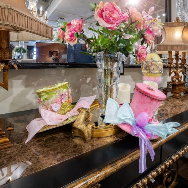 Luxury Home Spring Easter Top Hats