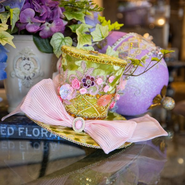 Luxury Spring Home Decor Easter Top Hat