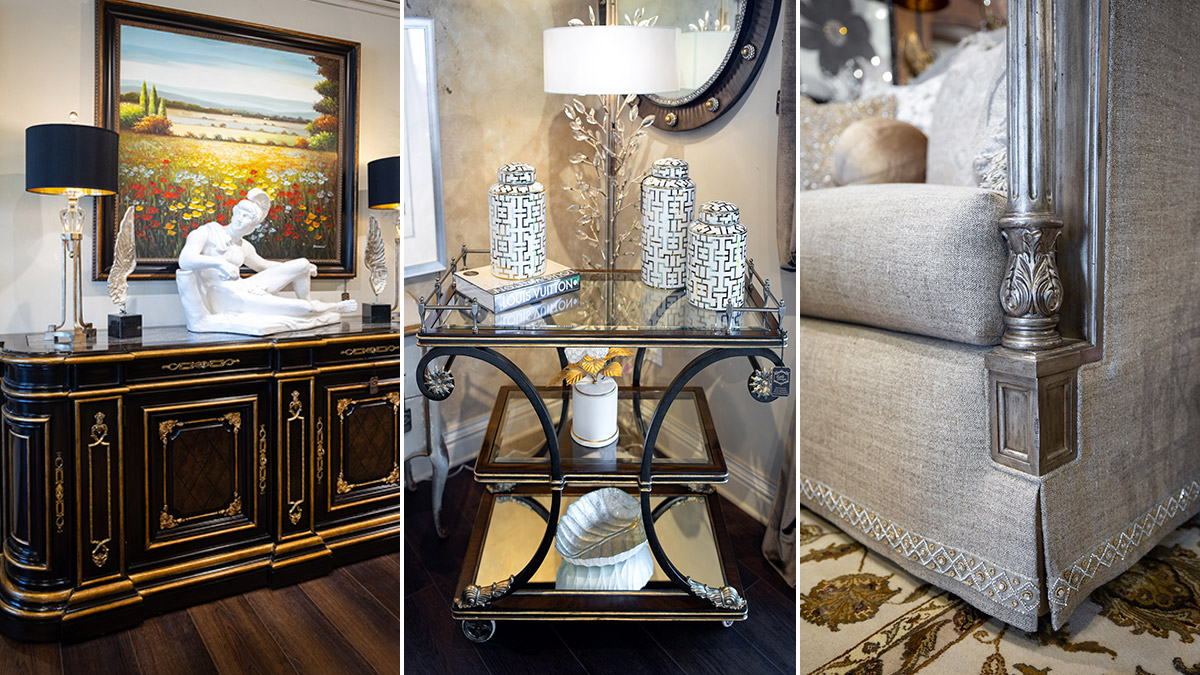 Luxury Marge Carson Furniture and Home Decor Showroom at Linly Designs