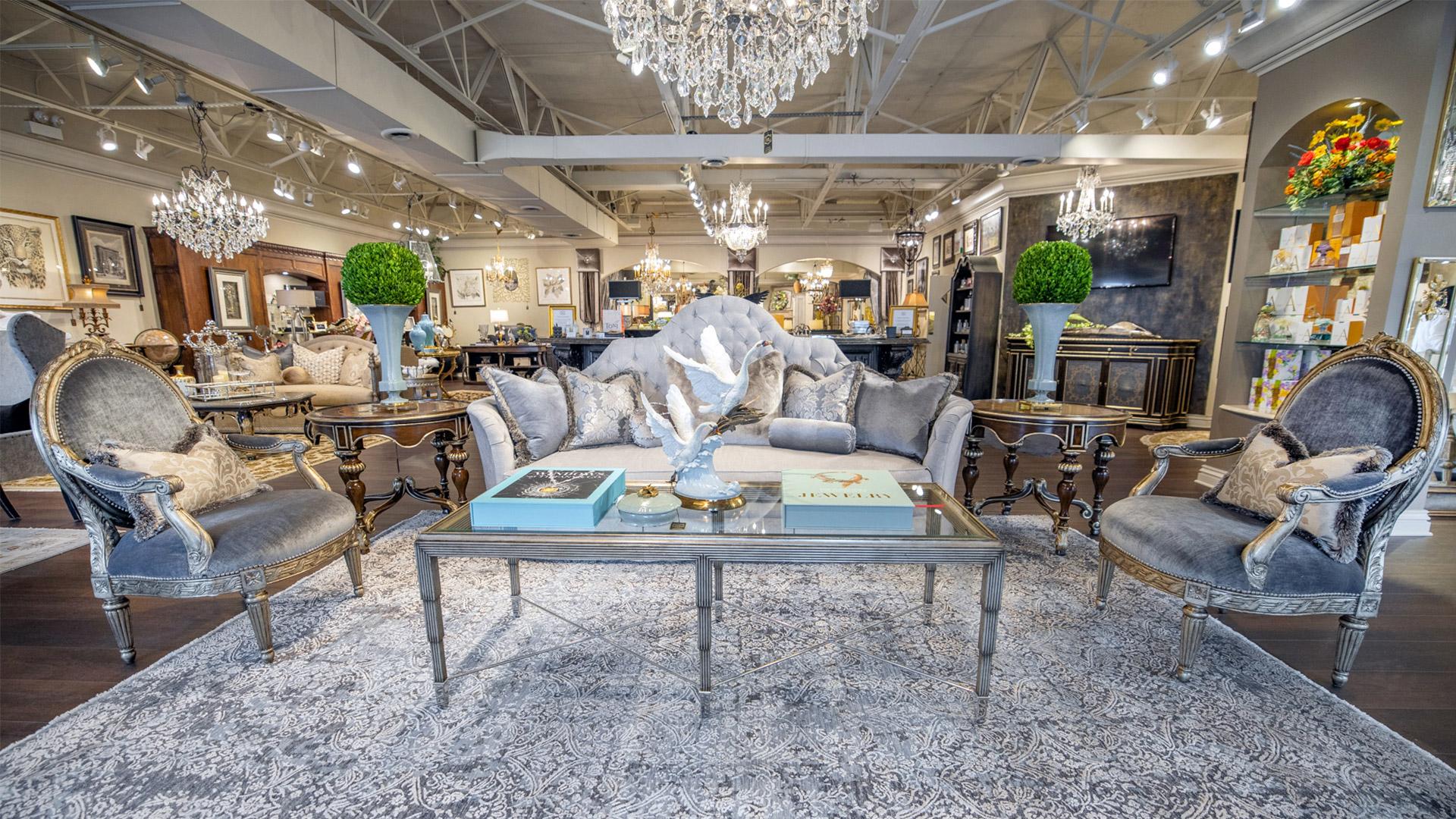 Marge Carson Luxury Furniture Showroom